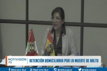DETERMINAN DETENCIÓN DOMICILIARIA POR LA MUERTE DE BALTO