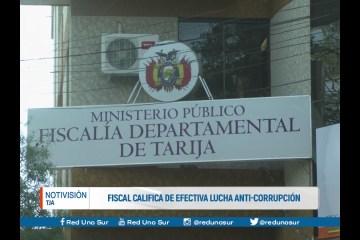 FISCAL CALIFICA DE EFECTIVA LUCHA ANTI-CORRUPCIÓN