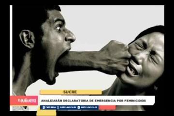 ANALIZARÁN DECLARATORIA DE EMERGENCIA POR FEMINICIDIOS