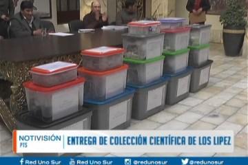 ENTREGA DE COLECCIÓN CIENTÍFICA DE LOS LÍPEZ
