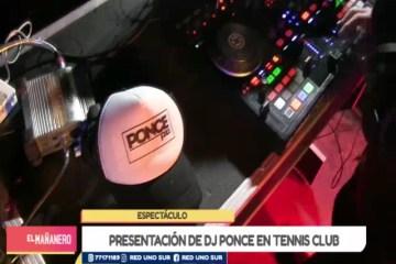 ESPECTÁCULO: TARIJA BAILA CON DJ PONCE