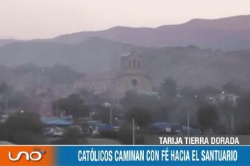 TARIJA TIERRA DORADA: FESTIVIDAD DE LA VIRGEN DE CHAGUAYA
