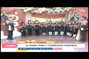 TEMA DEL DÍA: HOMENAJE A LA TRICOLOR BOLIVIANA