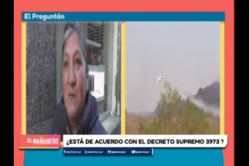 EL PREGUNTÓN: DESMONTE DE TIERRAS