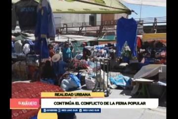 REALIDAD URBANA: CONFLICTO SOBRE EL SECTOR DE LA FERIA POPULAR