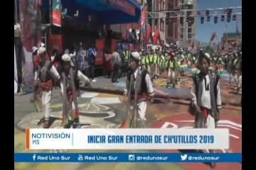 INICIA LA GRAN ENTRADA DE CH'UTILLOS 2019