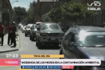 TEMA DEL DÍA: CONTAMINACIÓN POR EL PARQUE AUTOMOTOR