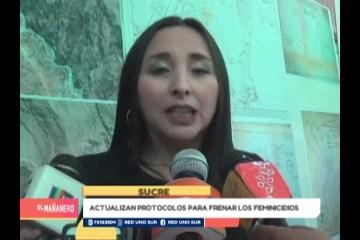 ACTUALIZAN PROTOCOLOS PARA FRENAR LOS FEMINICIDIOS