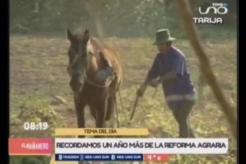TEMA DEL DÍA: RECORDAMOS UN AÑO MÁS DE LA REFORMA AGRARIA