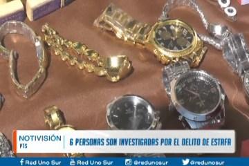 6 PERSONAS SON INVESTIGADAS POR EL DELITO DE ESTAFA