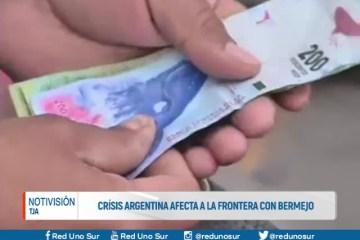 CRISIS ARGENTINA AFECTA A LA FRONTERA CON BERMEJO
