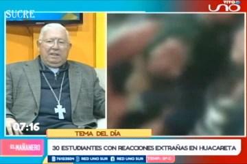 TEMA DEL DÍA: CASO DE «JÓVENES POSEÍDOS» EN CHUQUISACA