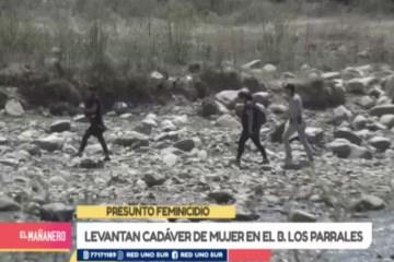 LEVANTAN CADÁVER DE MUJER EN EL BARRIO LOS PARRALES