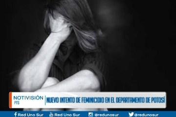 NUEVO INTENTO DE FEMINICIDIO EN EL DEPARTAMENTO DE POTOSÍ