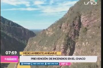 PREVENCIÓN DE INCENDIOS EN EL CHACO