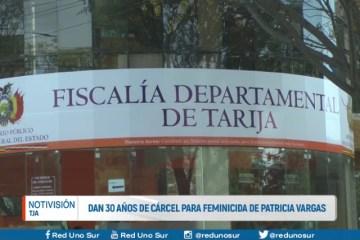 DAN 30 AÑOS DE CÁRCEL PARA FEMINICIDA DE PATRICIA VARGAS