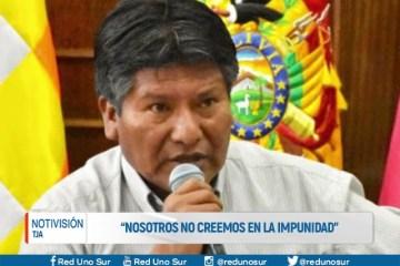 """""""NOSOTROS NO CREEMOS EN LA IMPUNIDAD"""""""
