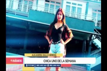 CHICA UNO TARIJA: ALEJANDRA GALLO HEREDIA
