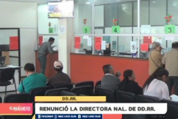 RENUNCIÓ LA DIRECTORA NACIONAL DE DDRR