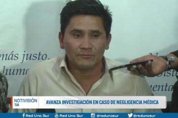 AVANZA INVESTIGACIÓN EN CASO DE NEGLIGENCIA MÉDICA