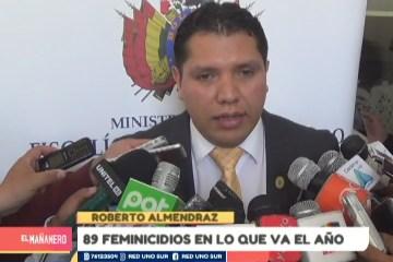 89 FEMINICIDIOS EN LO QUE VA DEL AÑO