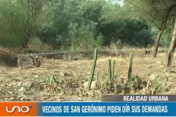 REALIDAD URBANA: DEMANDAS DE VECINOS DE SAN GERÓNIMO