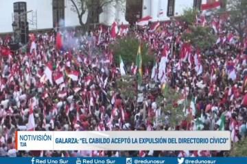 """GALARZA: """"EL CABILDO ACEPTÓ LA EXPULSIÓN DEL DIRECTORIO CÍVICO"""""""