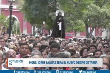 MONSEÑOR JORGE SALDÍAS SERÁ EL NUEVO OBISPO DE TARIJA