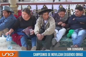 SIN CENSURA: HUELGA DE CAMPESINOS