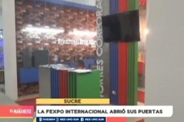 LA FEXPO SUCRE INTERNACIONAL ABRIÓ SUS PUERTAS