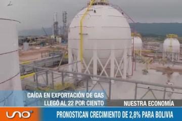 NUESTRA ECONOMÍA: PRONOSTICAN CRECIMIENTO DE 2,8% PARA BOLIVIA