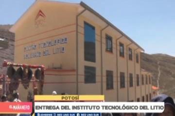 ENTREGA DEL INSTITUTO TECNOLÓGICO DE LITIO