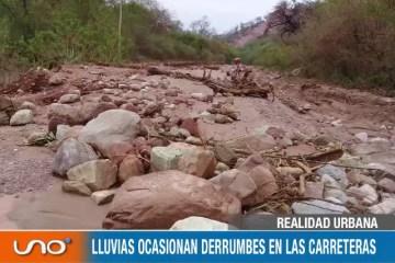 REALIDAD URBANA: CIERRE DE TRAMOS POR LLUVIAS