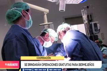 SE BRINDARÁN OPERACIONES GRATUITAS PARA BERMEJEÑOS
