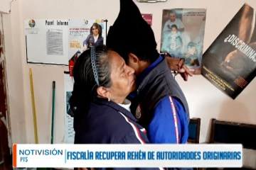 FISCALÍA RECUPERA A REHÉN DE AUTORIDADES ORIGINARIAS