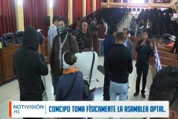 COMCIPO TOMA FÍSICAMENTE LA ASAMBLEA DEPARTAMENTAL
