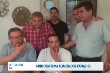 EL MNR CONFIRMA ALIANZA CON FERNANDO CAMACHO