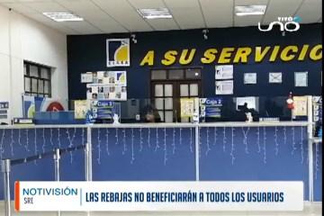 LAS REBAJAS DE ENERGÍA NO BENEFICIARÁN A TODOS LOS USUARIOS