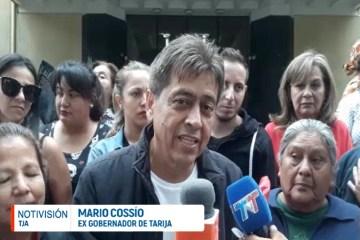 MARIO COSSÍO LLEGÓ AL PAÍS Y SE PRESENTÓ ANTE EL TDJ