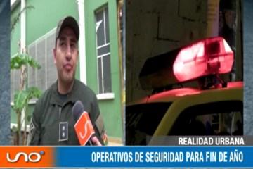 OPERATIVOS DE SEGURIDAD PARA FIN DE AÑO