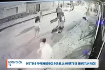 EXISTEN 6 APREHENDIDOS POR LA MUERTE DE SEBASTIÁN ARCE