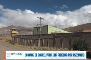 30 AÑOS DE CÁRCEL PARA UN HOMBRE POR ASESINATO