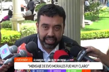 """ÁLVARO RUÍZ: """"MENSAJE DE EVO MORALES FUE MUY CLARO"""""""