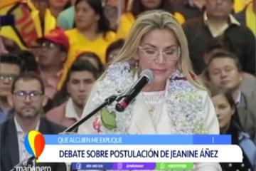 QUE ALGUIEN ME EXPLIQUE: DEBATE SOBRE LA POSTULACIÓN DE JEANINE ÁÑEZ
