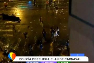 LA POLICÍA DESPLIEGA PLAN DE CARNAVAL