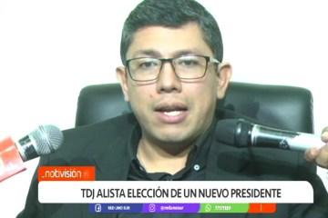TDJ ALISTA LA ELECCIÓN DE UN NUEVO PRESIDENTE