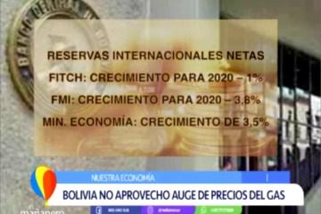 NUESTRA ECONOMÍA: RESERVAS INTERNACIONALES NETAS NO ALCANZAN PARA CONGELAR EL DÓLAR