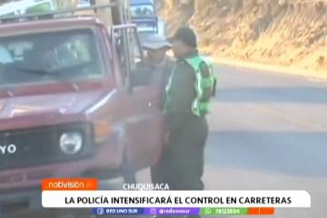 LA POLICÍA INTENSIFICARÁ EL CONTROL EN CARRETERAS