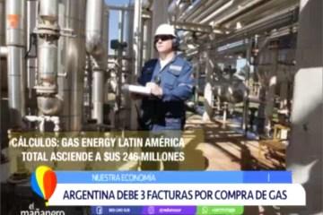 NUESTRA ECONOMÍA: ARGENTINA DEBE 3 FACTURAS POR COMPRA DE GAS