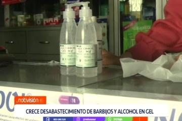 CRECE EL DESABASTECIMIENTO DE BARBIJOS Y ALCOHOL EN GEL